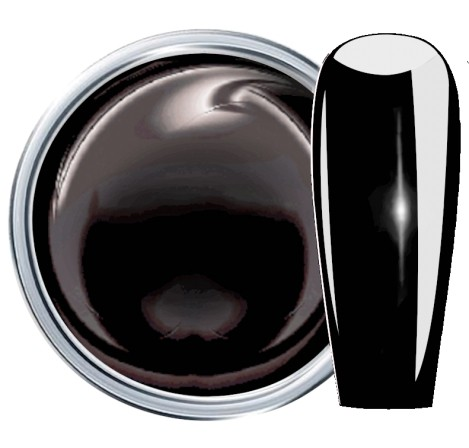 JUSTNAILS Farbgel Premium 4D Plastilin - black