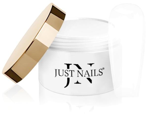 JUSTNAILS Cover Fibre Glace Premium Fibre - Soft White