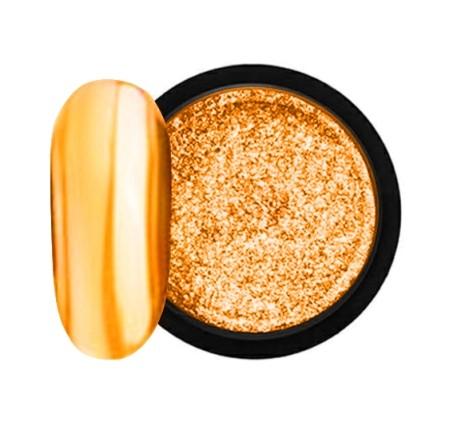 JUSTNAILS Mirror-Glow Nagel Pigment - Tiger Pie