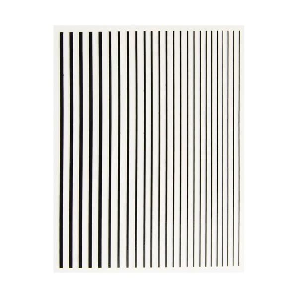 JUSTNAILS Flexible Stripes Set schwarz