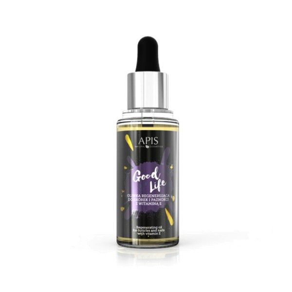 JUSTNAILS APIS Professional Cuticle & Nail Oil - Good Life 30ml